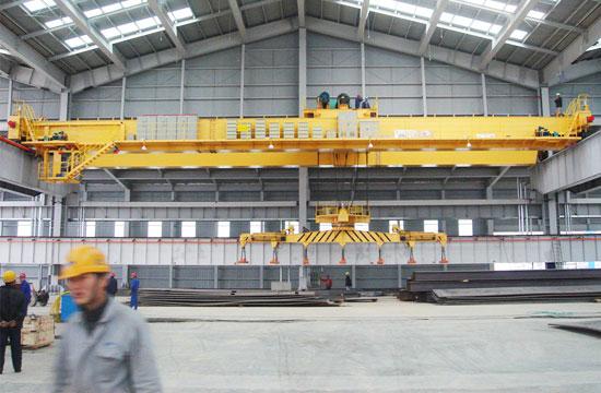 Overhead Electromagnetic Crane