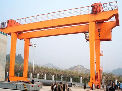 large double girder gantry crane