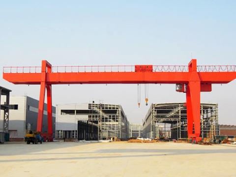 large single girder gantry crane
