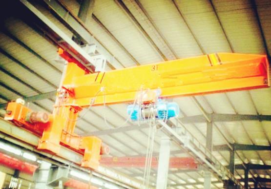 Several Advantages Of Convenient Wall Traveling Jib Crane